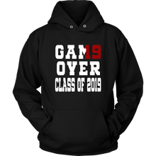 Load image into Gallery viewer, Game Over - Graduation Hoodies - Black