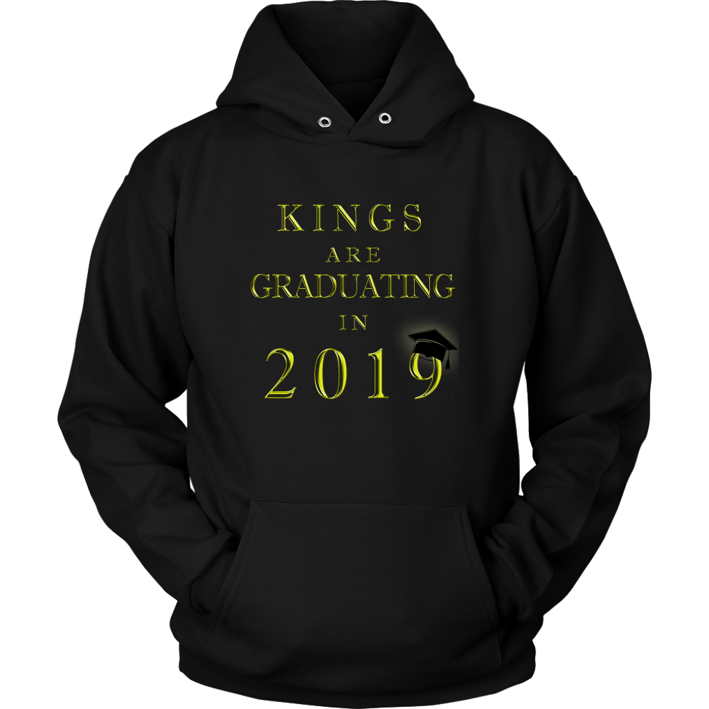 Kings Are Graduating In 2019 - Class of 2019 Hoodies - Black