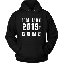 Load image into Gallery viewer, Class Of 2019 Senior Hoodies - 2019% Done - Black