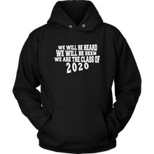 Load image into Gallery viewer, We Will Be Heard - Junior Class Sweatshirts 2020