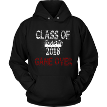 Load image into Gallery viewer, Game Over-Class of 2018 hoodies