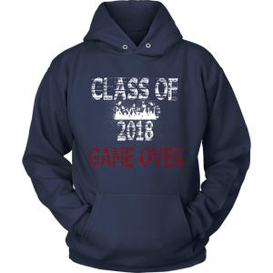 Game Over-Class of 2018 hoodies