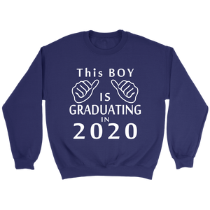 This Boy Is Graduating In 2020 - Senior Class Of 2020 Hoodie