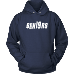 Mighty and Mean - Class Of 19 Hoodies - Navy