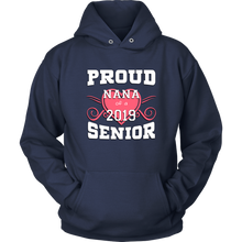 Load image into Gallery viewer, Proud Nana of 2019 Senior - Family Shirt Idea