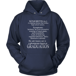 Senioritis - 2020 Senior Hoodies
