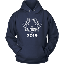 Load image into Gallery viewer, This Guy Is Graduating - 2019 Senior Hoodies