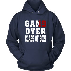 Game Over - Graduation Hoodies