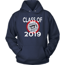 Load image into Gallery viewer, Born To Be Great - Senior 2019 Hoodies - Navy