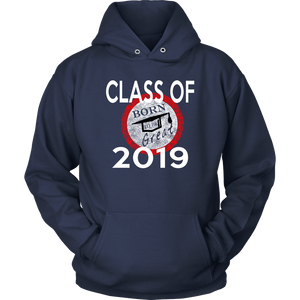 Born To Be Great - Senior 2019 Hoodies - Navy
