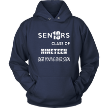 Load image into Gallery viewer, Senior Class of 2019 Hoodie - Navy