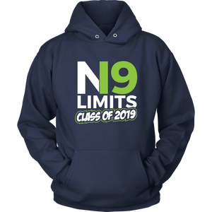 No Limits - Grad Hoodies 2019 - Navy