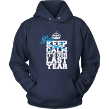 Load image into Gallery viewer, Go Crazy - Senior Hoodie Designs 2019 - Navy