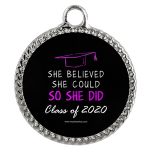 She Believed She Could So She Didi - Graduation Necklaces for Her