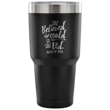 Load image into Gallery viewer, She Believed She Could So She Did - Graduation Coffee Mug - Black