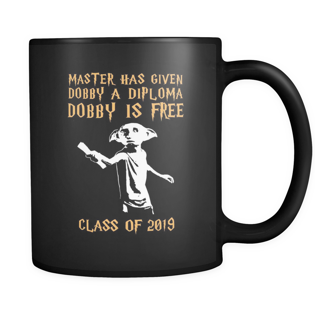 Dobby Is Free - Class of 2019 Mugs