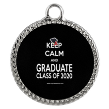 Load image into Gallery viewer, Keep Calm and Graduate - Grad Necklace