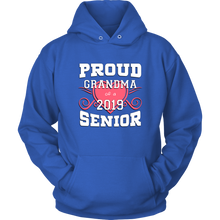 Load image into Gallery viewer, Proud Grandma Of A 2019 Senior - Family Shirt Ideas