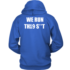 We Run - Class Of 2019 Hoodies - Blue