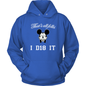 Class of 2018 Hoodie - That's All Folks