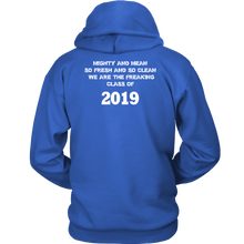 Load image into Gallery viewer, Mighty and Mean - Senior Class of 2019 Hoodies