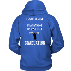 Class of 2018 Senior Hoodies - Just For The Graduation