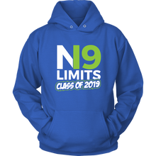 Load image into Gallery viewer, No Limits - Grad Hoodies 2019 - Blue