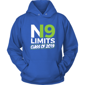 No Limits - Grad Hoodies 2019 - Blue