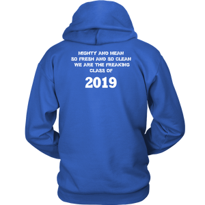 Mighty and Mean - Class Of 19 Hoodies - Blue