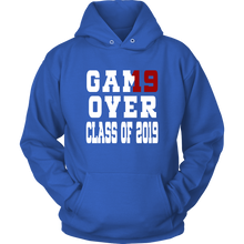 Load image into Gallery viewer, Game Over - Graduation Hoodies - Blue