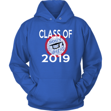 Load image into Gallery viewer, Born To Be Great - Senior 2019 Hoodies - Blue