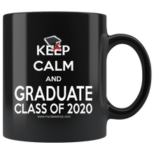 Load image into Gallery viewer, Keep Calm and Graduate - 2020 Graduation Coffee Mug