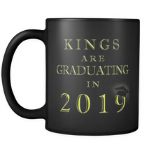 Load image into Gallery viewer, Kings Are Graduating in 2018 - Funny Graduation Mugs