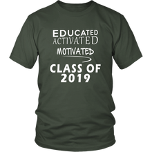 Load image into Gallery viewer, Class of 2019 t shirt slogans - Sen19rs shirt - Green