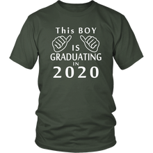 Load image into Gallery viewer, This Boy Is Graduating In 2020 - Class Of 2020 Shirts Slogans
