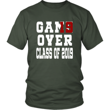 Load image into Gallery viewer, Class of 19 shirts - Game Over - Green