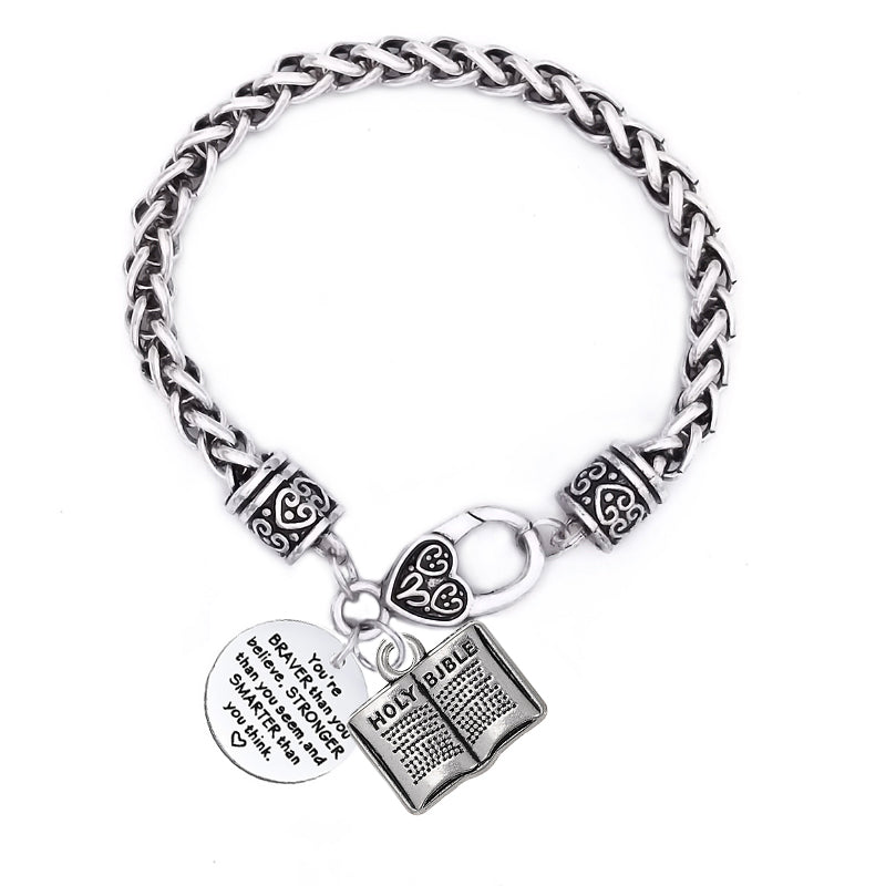Class of 2018 collection quote bracelet
