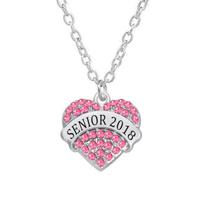 Class of 2018 graduating necklace for her