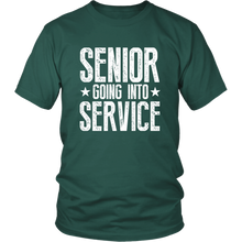 Load image into Gallery viewer, Senior Going Into Service - Class of 2019 T-shirt - Green