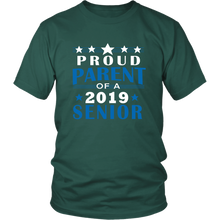Load image into Gallery viewer, Proud Parent Of A 2019 Senior - Graduation T shirts For Parents