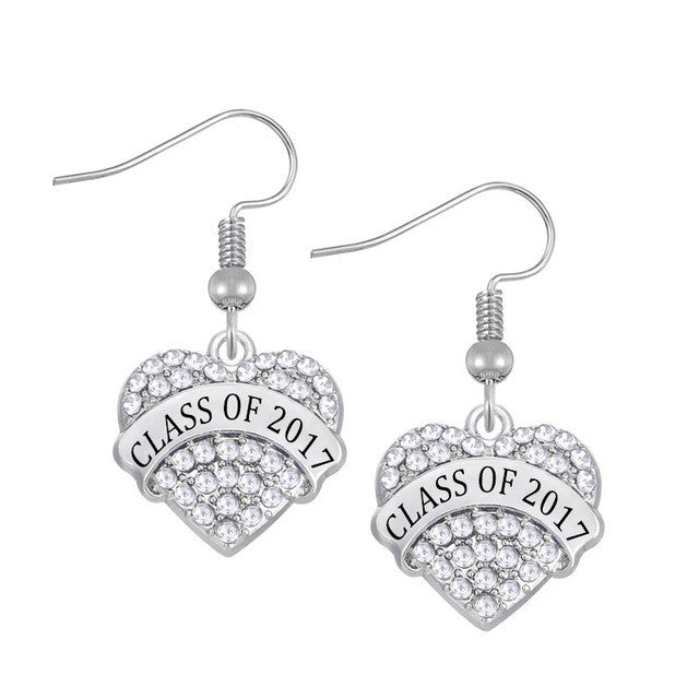 Class Of 2017-Earrings - My Class Shop