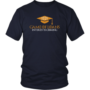 Game Of Loans - Senior Shirt Designs 2020