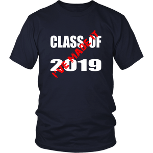 Class T shirts 2019 - I Have Made It - Navy