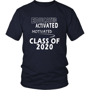 Educated - Class of 2020 Shirt Designs