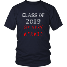 Load image into Gallery viewer, Class of 2019 shirts with slogans - Navy