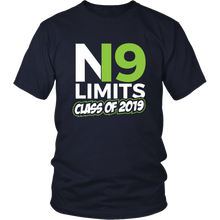 Load image into Gallery viewer, No Limits - Class of 2019 Senior Shirts - Navy