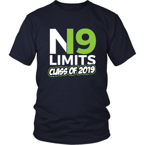 No Limits - Class of 2019 Senior Shirts - Navy