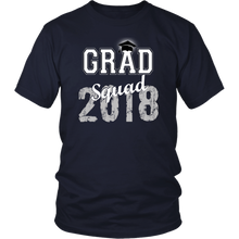 Load image into Gallery viewer, 2018 Grad Squad T shirts - Graduation Shirts For Family - Navy