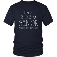 Load image into Gallery viewer, Officially Don't Care - Senior 2020 Shirts