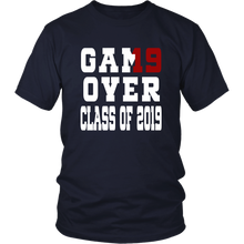 Load image into Gallery viewer, Game Over - Graduation Shirts - Navy